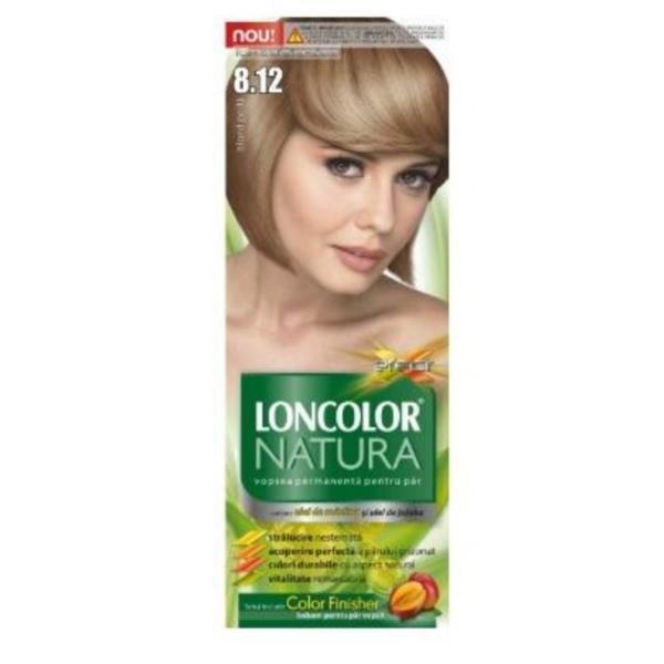 Vopsea de păr Loncolor Natura 8.12 Blond Perlă, 100 ml esteto.ro