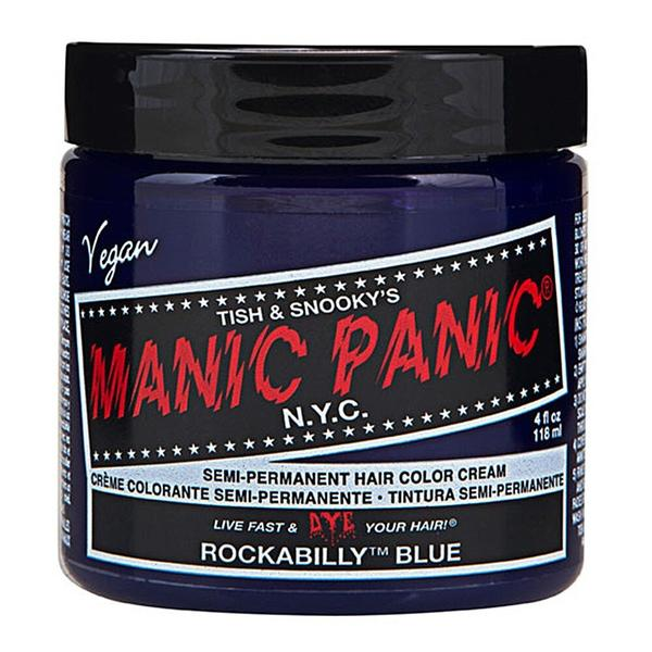 Vopsea Direct Semipermanenta - Manic Panic Classic, nuanta Rockabilly Blue 118 ml