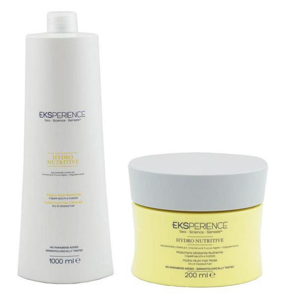 Pachet Nutritiv - Revlon Professional Eksperience Hydrating Hair: Sampon 1000 ml, Masca 200 ml