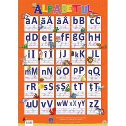 Plansa Alfabetul, editura Didactica Publishing House
