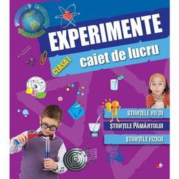 Experimente clasa 1 caiet de lucru, editura Litera