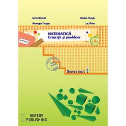 Matematica Cls 6 semestrul 1 2013-2014 Exercitii si probleme - Cornel Moroti, Marius Giurgiu, Gheorghe Drugan, Ion Ghica, editura Meteor Press