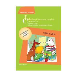 Romana cls 6 Comunicare 2014 sem II - Fise de lucru, editura Nomina