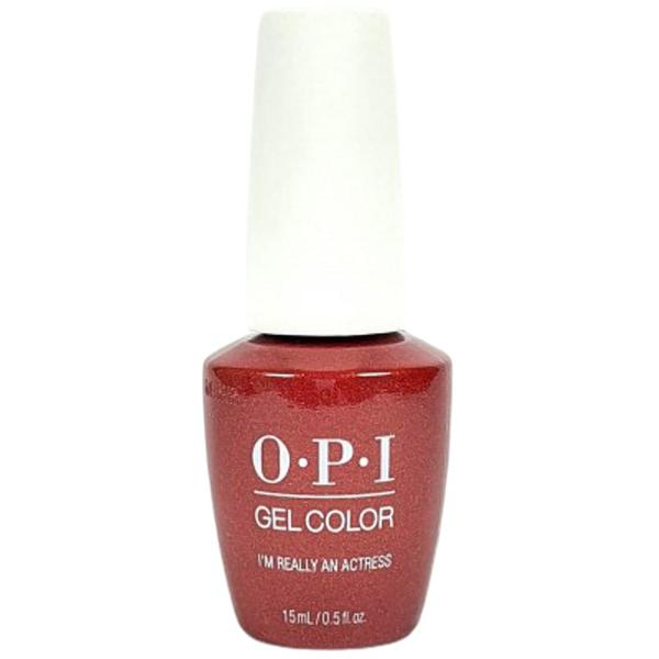 Lac de Unghii Semipermanent - OPI Gel Color Hollywood I'm Really An Actress, 15 ml