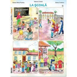 Set caiet de lucru cls 1 - Doina Silvia Puchiu, Valeria Cristici, Elena Croitoru (La scoala+Iarna+In familie), editura Sigma