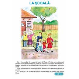 Set - Carte uriasa- Cls 1 sem 1: La Scoala+In famile+Iarna, editura Sigma