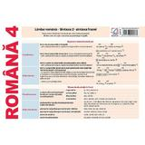 Plansa Romana 4. Limba romana: Sintaxa 2 - sintaxa frazei, editura Booklet
