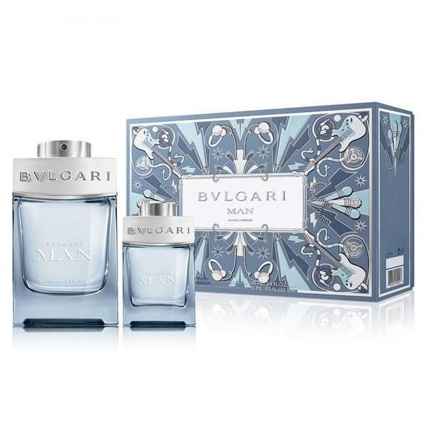 Set cadou Bvlgari Glacial Man Apa de parfum 100ml + Apa de parfum 15ml esteto.ro