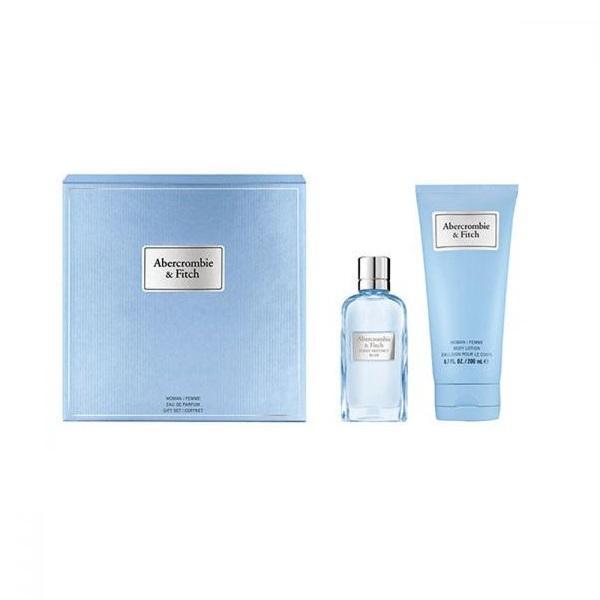 Set cadou Abercrombie & Fitch First Instinct Blue Apa de parfum 50ml + Lotiune de corp 200ml esteto.ro