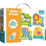 Puzzle trefl baby animale safari 2+