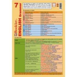Limba engleza - English grammar 7, editura Booklet