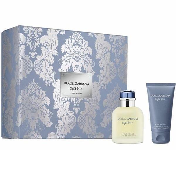 Set cadou Dolce&Gabbana Light Blue Pour Homme Eau de toilette 75ml + After shave 50ml esteto.ro