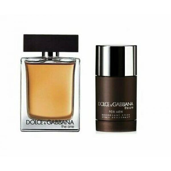 Set cadou Dolce&Gabbana The One for Him Eau de toilette 100ml + Deodorant stick 75g esteto.ro