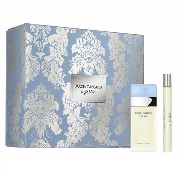 Set cadou Dolce&Gabbana Light Blue For Her Eau de toilette 25ml + Travel spray 10ml esteto.ro