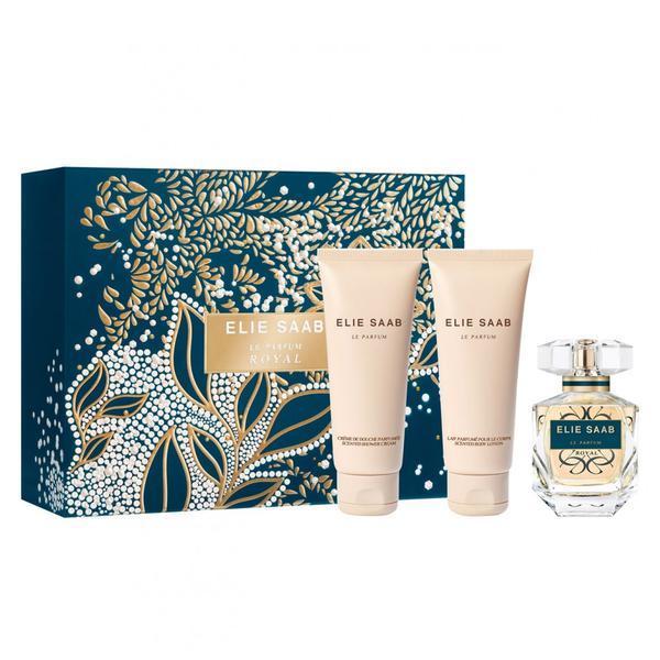 Set cadou Elie Saab Le Parfum Royal Eau de parfum 50ml + Gel de dus 75ml + Lotiune de corp 75ml esteto.ro