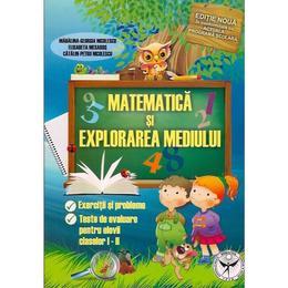 Matematica Si Explorarea Mediului Cls 1 Si 2 - Madalina-Georgia Nicolescu, editura Icar