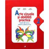 Arte vizuale si abilitati practice clasa a II-a - Caiet - Cristina Rizea, editura Litera