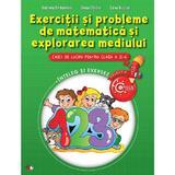 Exercitii Si Probleme De Matematica Si Explorarea Mediului Cls 2 Caiet - Gabriela Barbulescu, editura Litera