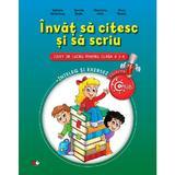 Invat Sa Citesc Si Sa Scriu Cls 1 Caiet - Gabriela Barbulescu, editura Litera