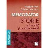 Memorator Istorie Cls 12 si Bac - Magda Stan, Cristian Vornicu, editura Niculescu