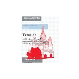 Teme de matematica clasa 6 sem 2 - Petrus Alexandrescu, editura Nomina