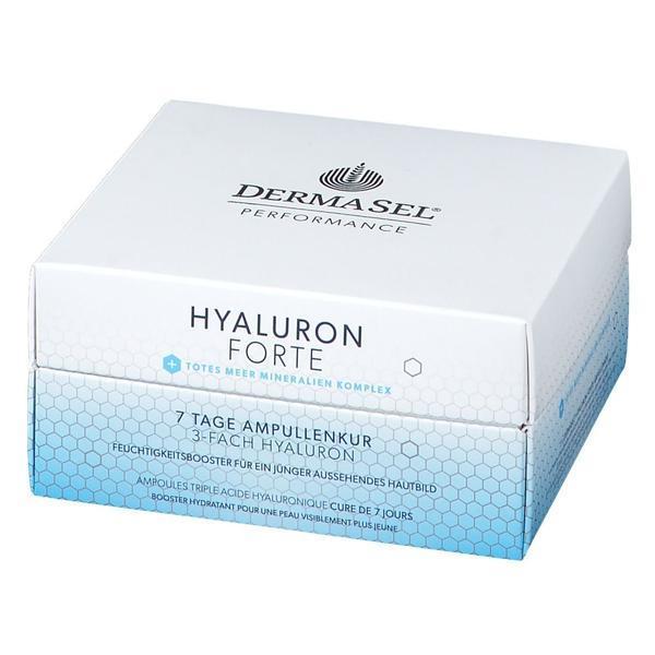 Tratament fiole Hyaluron Forte 7 zile, Dermasel 7 ml