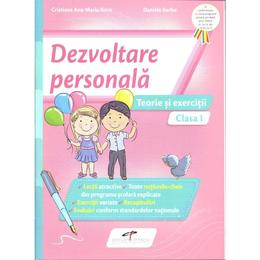 Dezvoltare personala - Clasa 1 - Teorie si exercitii - Cristiana Ana-Maria Boca, Daniela Barbu, editura Cd Press