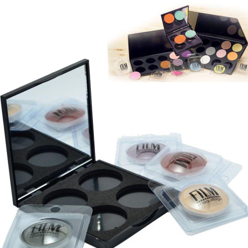 Paleta Goala 4 Culori Fard de Pleoape - Film Maquillage Astuccio Vuoto 4 Colori Ombretto Compatto imagine produs