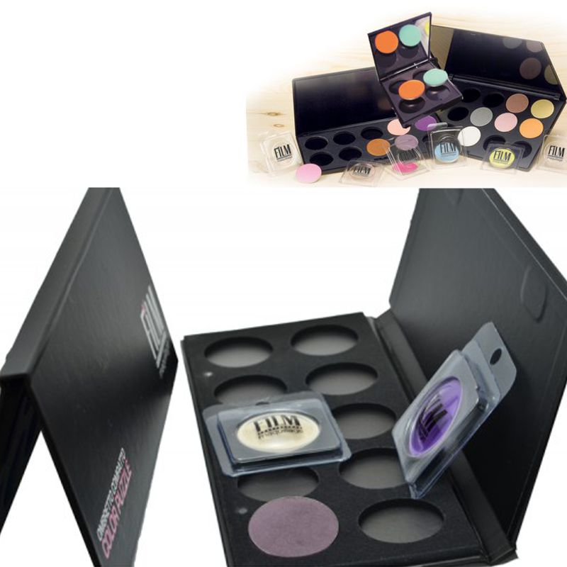 Paleta Goala 10 Culori Fard de Pleoape - Film Maquillage Astuccio Vuoto 10 Colori Ombretto Compatto imagine produs