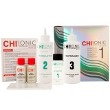 Kit pentru Par Vopsit Fin sau Poros  - CHI Ionic Permanent Shine Waves Selection 1 Kit