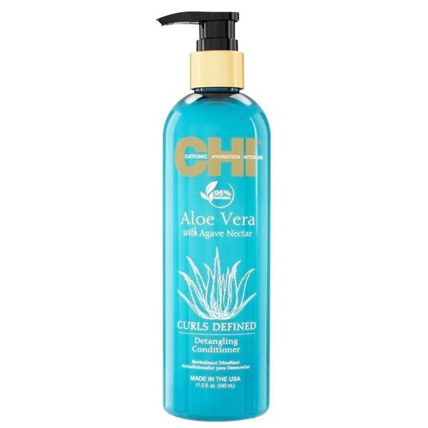 Balsam pentru Par Cret cu Aloe Vera si Nectar de Agave - CHI Farouk Curls Defined Detangling Enhancing Shampoo Aloe Vera with Agave Nectar, 340 ml