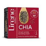Crema de fata de zi si de noapte hranitoare, Lirene Superfood Chia, 50ml
