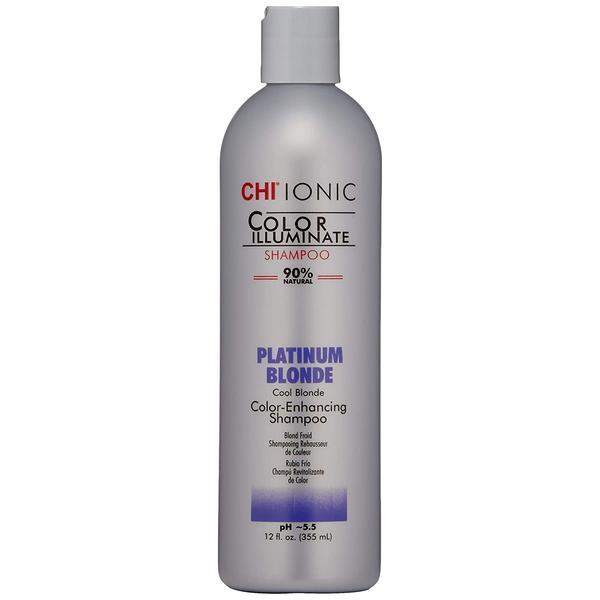 Sampon Nuantator Blond Platinat - CHI Farouk Ionic Color Illuminate Shampoo Platinum Blonde, 355 ml