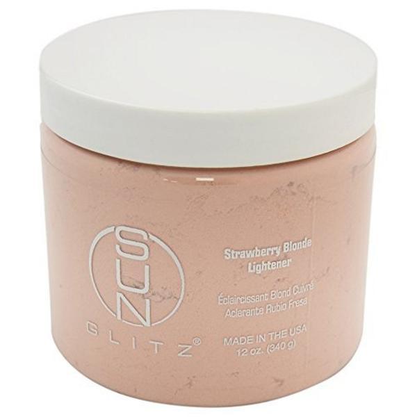 Pudra Decoloranta fara Amoniac Blond Capsuna- Sun Glitz Farouk Strawberry Blonde Lightener, 340 g