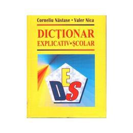 Dictionar explicativ scolar - Corneliu Nastase, Valer Nica, editura Nasticor
