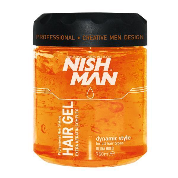 Gel de par Nishman Dynamic Style Ultra Hold 750 ml
