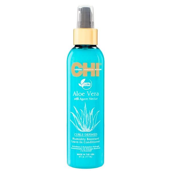 Balsam Leave-in pentru Par Cret cu Aloe Vera si Nectar de Agave - CHI Farouk Curls Defined Humidity Resistant Leave-In Conditioner Aloe Vera with Agave Nectar, 177 ml