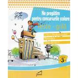 Ne pregatim pentru concursurile scolare. Teste-Grila - Clasa 3 - Romana, Mate, Stiinte, editura Tiparg