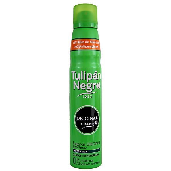 Deodorant Spray Original Unisex Tulipan Negro, 200 ml esteto.ro