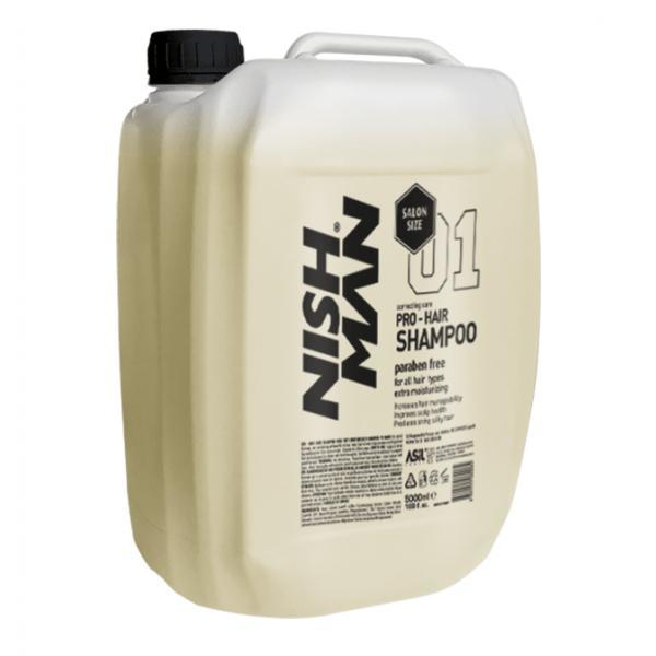 Sampon pentru par NishMan Pro Shampoo 5000 ml