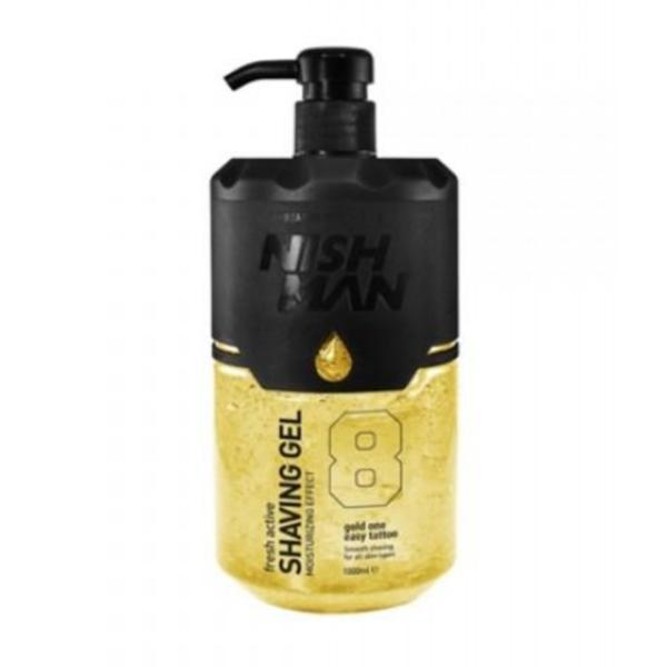 Gel de ras Nishman Shaving Gel Gold One, 1000 ml