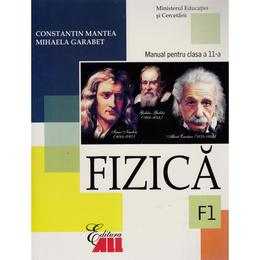 Manual fizica Clasa 11 F1 2006 - Constantin Mantea, Mihaela Garabet, editura All