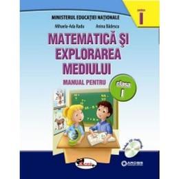 Matematica si explorarea mediului clasa 1 partea I+partea II - MihaelA-Ada Radu, Anina Badescu, editura Aramis