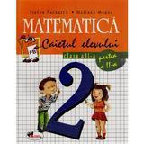 Matematica cls 2 caiet partea a II-a - Stefan Pacearca, Mariana Mogos, editura Aramis
