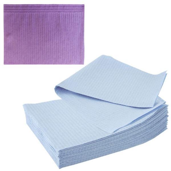 Bavete-Campuri Cosmetice Mov - Prima PE and Paper Medical Towel Tissue 33 x 45 cm esteto.ro