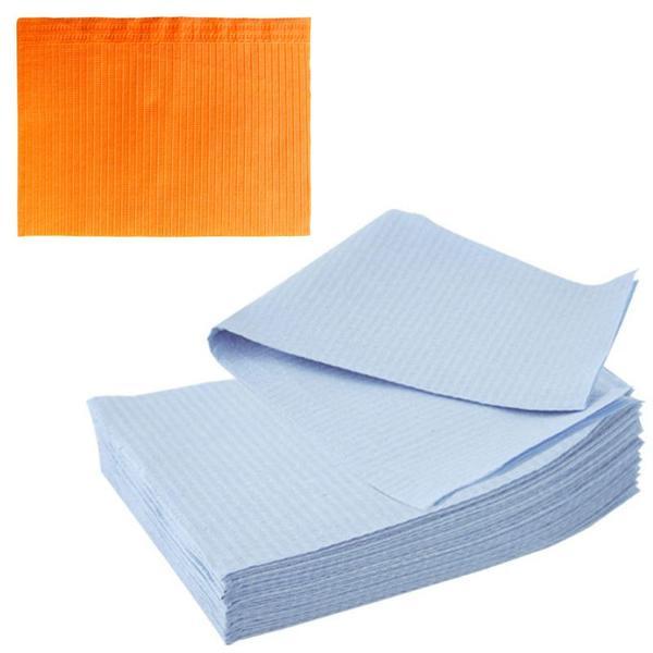 Bavete-Campuri Cosmetice Orange - Prima PE and Paper Medical Towel Tissue 33 x 45 cm esteto.ro