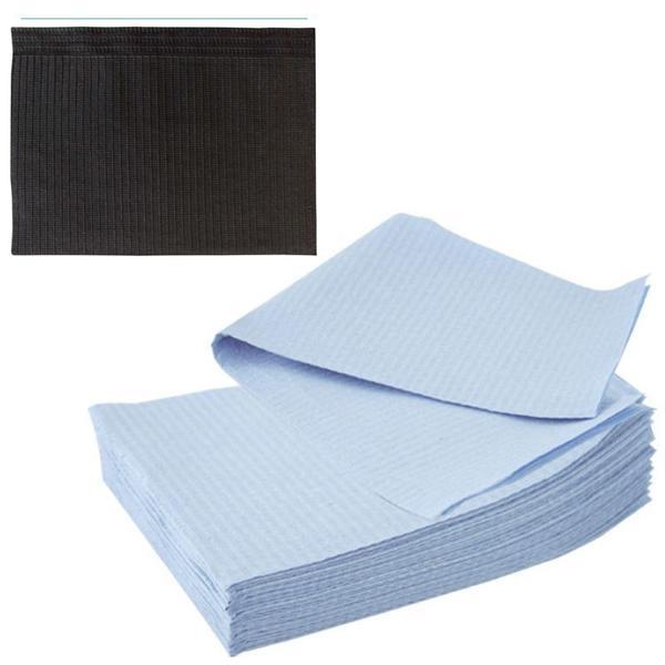 Bavete-Campuri Cosmetice Negre - Prima PE and Paper Medical Towel Tissue 33 x 45 cm esteto.ro