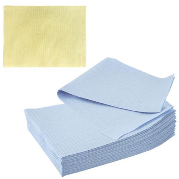 Bavete-Campuri Cosmetice Galbene - Prima PE and Paper Medical Towel Tissue 33 x 45 cm