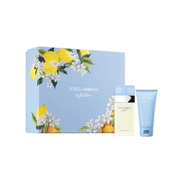 Set cadou Dolce & Gabbana, Light Blue, Femei: Apa de Toaleta, 50 ml + Lotiune de corp, 50 ml