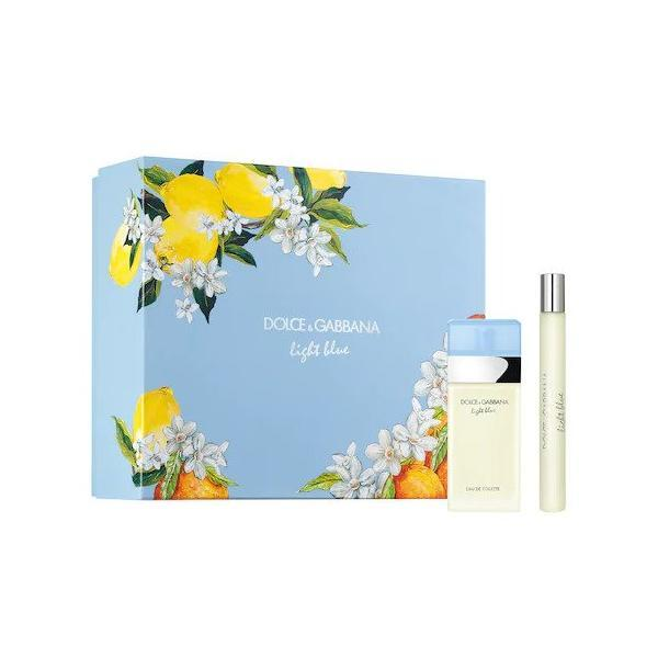Set cadou Dolce & Gabbana, Light Blue, Femei: Apa de Toaleta, 25 ml + Apa de Toaleta, 10 ml